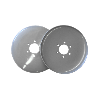 "10"" Epoxy Coated Steel Discs (set)"