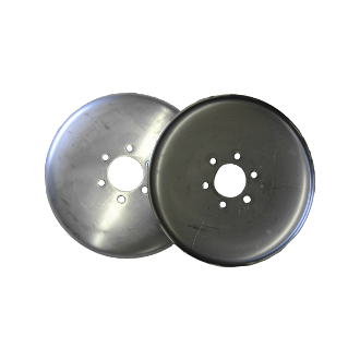 "10"" T409 Stainless Steel Discs (set)"
