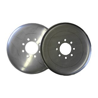 "12"" T409 Stainless Steel Discs (set)"